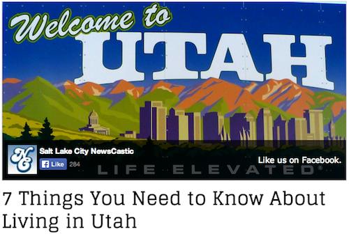 7 Things - Utah
