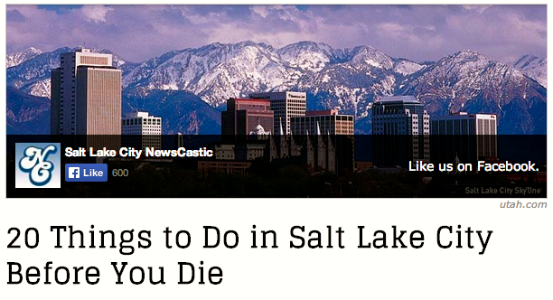 SLC Bucket List